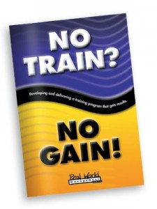 No Train No Gain Restaurant Management Book