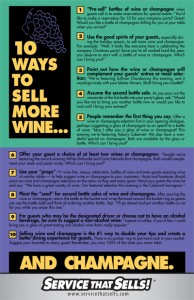 Wine Sales Training Poster