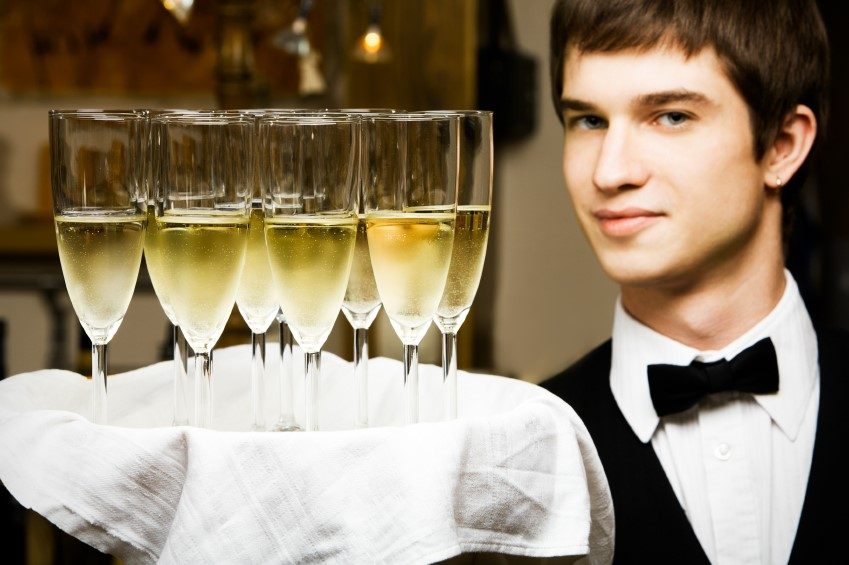 Bubbling Over: Train Servers to Sell More Champagne