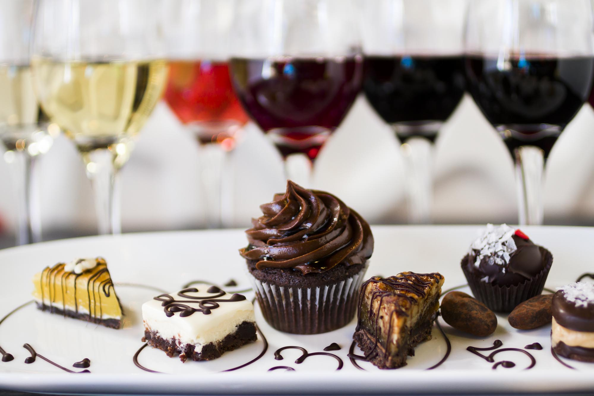 Pair Wine with Desserts for Add-on Sales