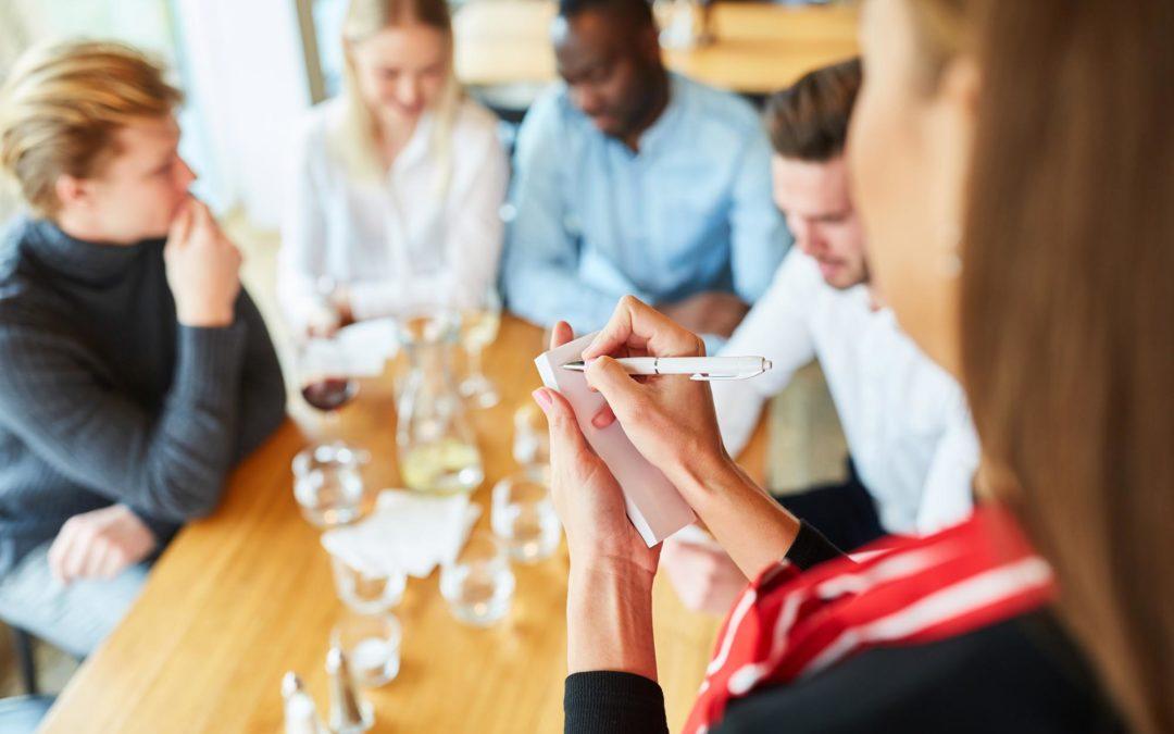 Types of Selling for Restaurant Servers