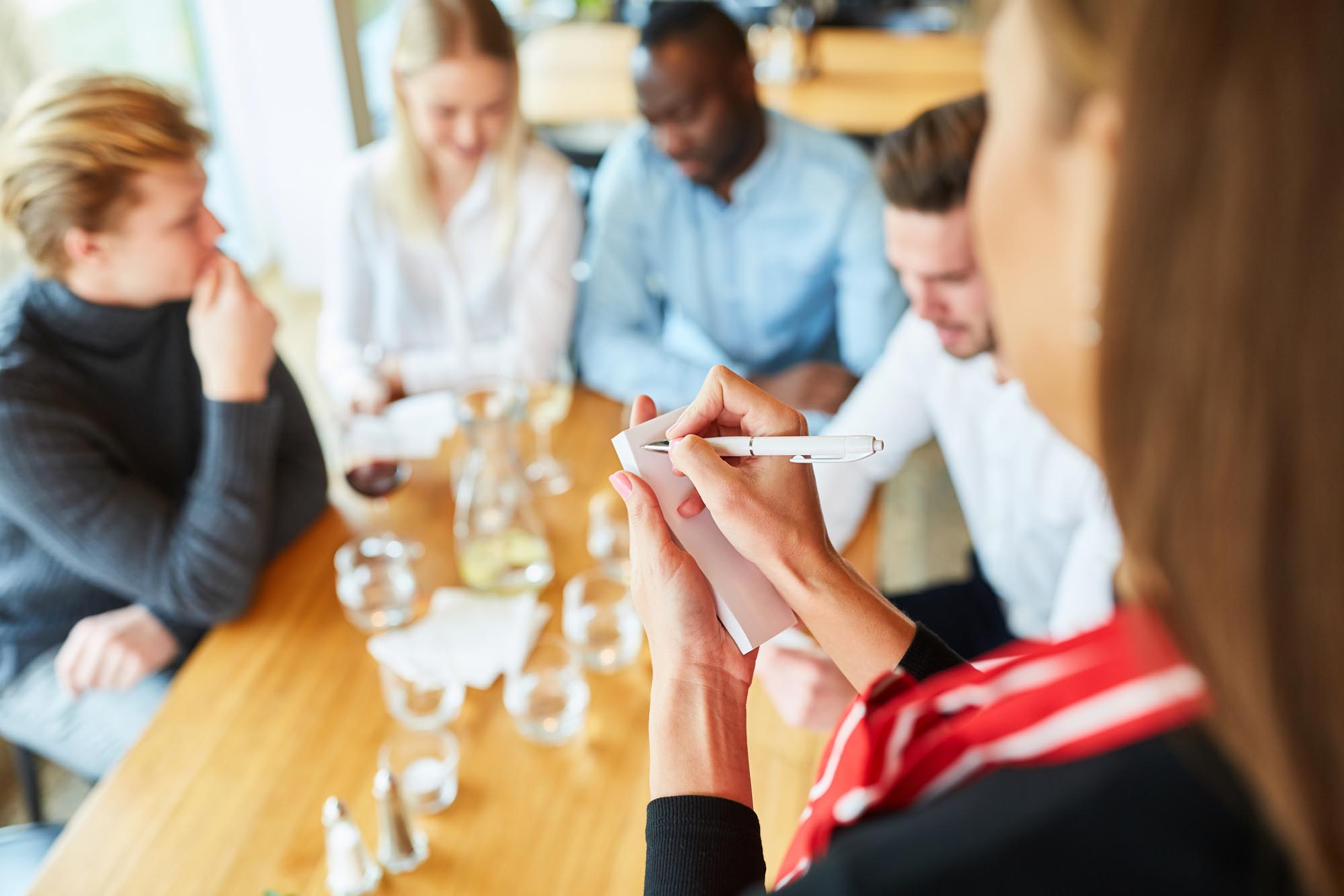 Types of Selling in a Restaurant
